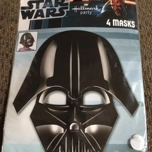 DarthVader party masks & lunch napkin-discontinued